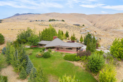 Wenatchee, Malaga Single Family Home For Sale: 4230 Knowles Rd
