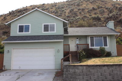 Wenatchee Single Family Home For Sale: 563 Saddle Rock Loop