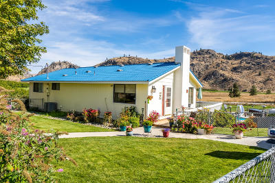 Chelan Single Family Home For Sale: 1911 Apple Acres Rd
