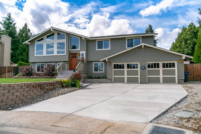 Wenatchee Single Family Home For Sale: 1723 Lexington Pl