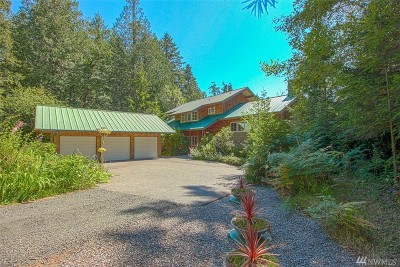 Shelton Single Family Home Sold: 1860 E South Island Dr