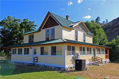 Methow, Carlton Single Family Home For Sale: 2244 Highway 153