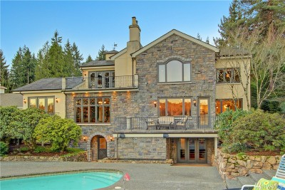 Waterfront Home Sold: 2942 W Lake Sammamish Pkwy NE