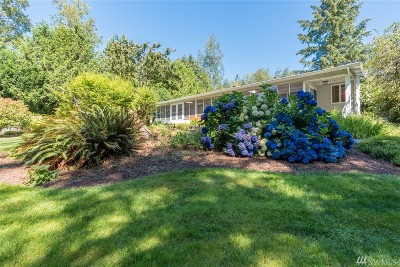 Sedro Woolley Single Family Home Sold: 117 Cain Lake Rd
