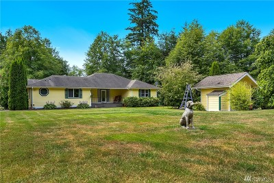 Blaine Single Family Home Sold: 4003 Hoier Rd
