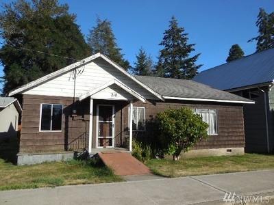 Napavine Single Family Home For Sale: 218 2nd Ave NE