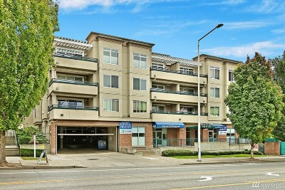 Condo/Townhouse Sold: 8750 Greenwood Ave N #S302