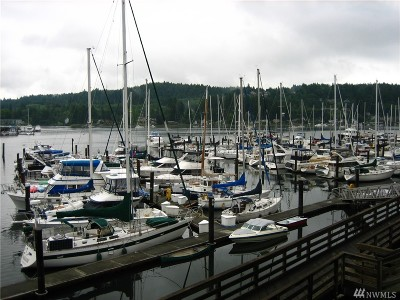 Gig Harbor Condo/Townhouse For Sale: 3901 Harborview Dr #B-13