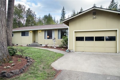 Shelton WA Single Family Home Sold: $207,000