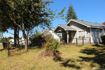 Forks WA Single Family Home For Sale: $97,000