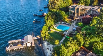 Mercer Island Single Family Home For Sale