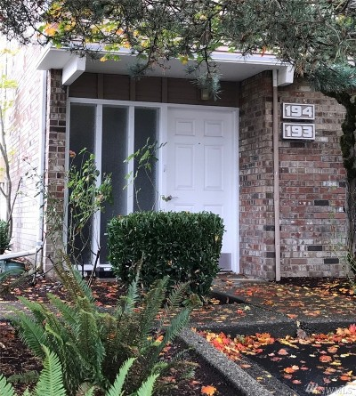 Bellevue Condo/Townhouse Sold: 5710 122nd Place SE #194