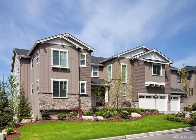 Bellevue Single Family Home For Sale: 6891 171st (Homesite 85) Ct SE