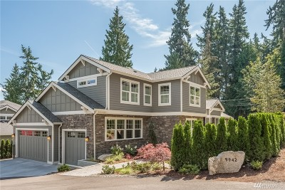 Mercer Island Single Family Home For Sale: 9942 SE 39th St