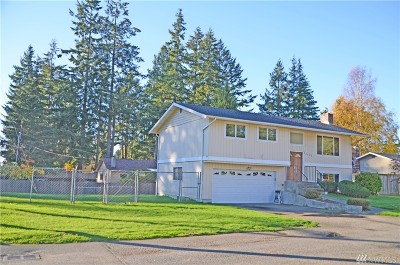 Edmonds WA Single Family Home Sold: $435,000