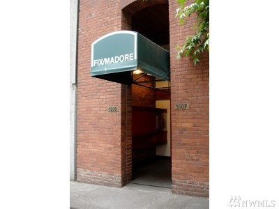Seattle Condo/Townhouse For Sale: 1507 Western Ave #402-3