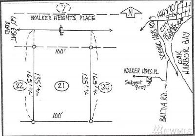 Oak Harbor Residential Lots & Land Sold: Walker Heights Place