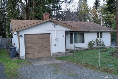 Shelton WA Single Family Home Sold: $145,000