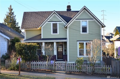 Bellingham Single Family Home Sold: 1453 Franklin St