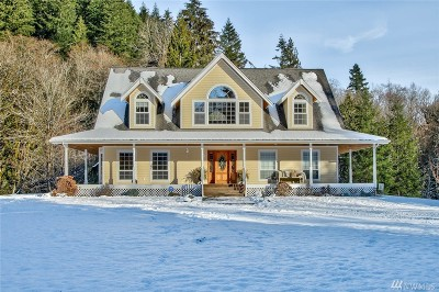 Sedro Woolley Single Family Home Sold: 7457 Healy Rd