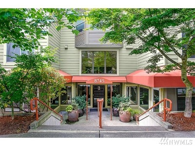 Condo/Townhouse Sold: 8745 Greenwood Ave N #203