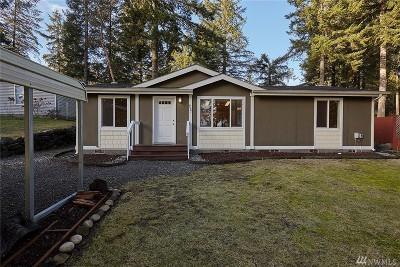 Mason County Single Family Home Sold: 1061 NE Larson Lake Rd