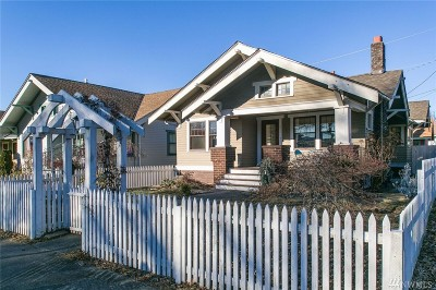 Bellingham Single Family Home Sold: 2309 A St