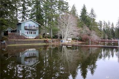 Mason County Single Family Home Sold: 161 W Nahwatzel Beach Dr