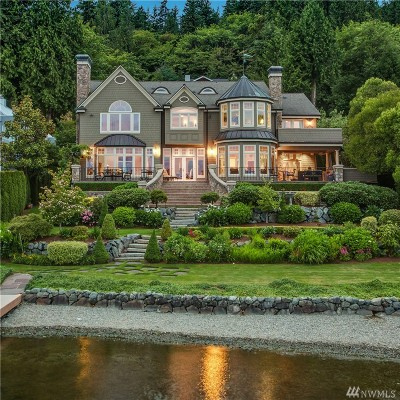 Single Family Home Sold: 1836 W Lake Sammamish Pkwy SE