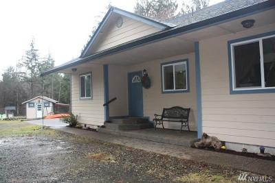 Mason County Single Family Home Sold: 7652 Shelton Matlock Rd