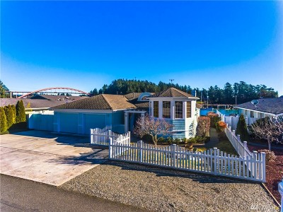 Skagit County Single Family Home Sold: 108 Lummi Dr