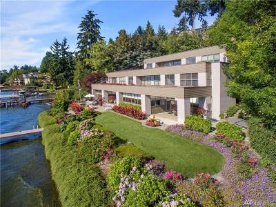 Mercer Island Single Family Home For Sale: 3840 E Mercer Wy