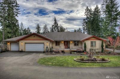Mason County Single Family Home Sold: 2021 E Mason Lake Dr W