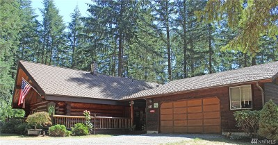 Tenino Single Family Home For Sale: 627 172nd Ct SE