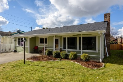 Bellingham Single Family Home Sold: 2611 Michigan St