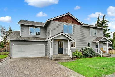 Sedro Woolley Condo/Townhouse Sold: 423 Rowland Rd