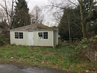 Kirkland Single Family Home For Sale: 11630 91st Lane NE