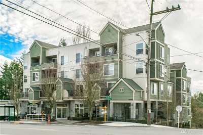 Condo/Townhouse Sold: 9057 Greenwood Ave N #103