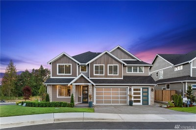 Gig Harbor Single Family Home For Sale: 7027 Teal Lp #Lot 8