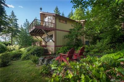 Lummi Island Single Family Home For Sale: 2990 Cove Ave