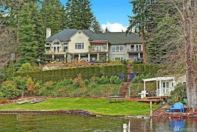Single Family Home Sold: 1721 E Lake Sammamish Place SE