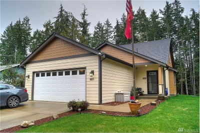 Shelton WA Single Family Home Sold: $210,000
