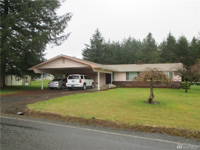 Chehalis Single Family Home For Sale: 191 N Prairie Rd