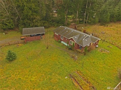 Shelton WA Single Family Home Sold: $113,000
