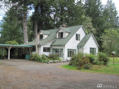 Forks WA Single Family Home For Sale: $197,000
