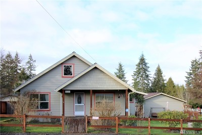 Mason County Single Family Home Sold: 1222 Olympic Ave