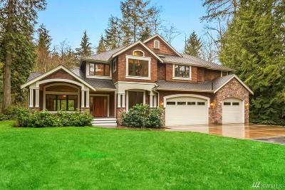Carnation Single Family Home For Sale: 29425 NE 52nd St