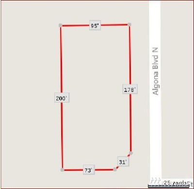 Algona Residential Lots & Land For Sale: 5001 Algona Blvd N