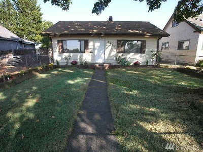 Tacoma WA Single Family Home For Sale: $209,000