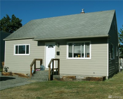 Tacoma Single Family Home For Sale: 7215 S Montgomery St